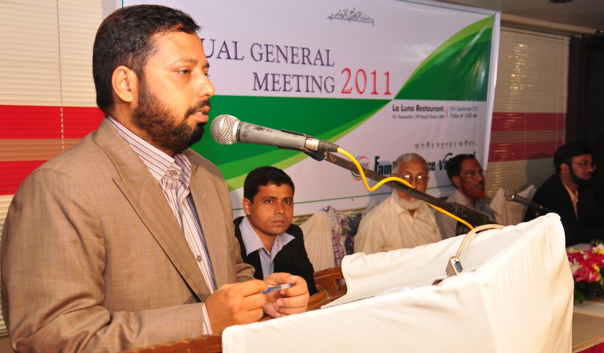 Chairma's speech at 2nd AGM