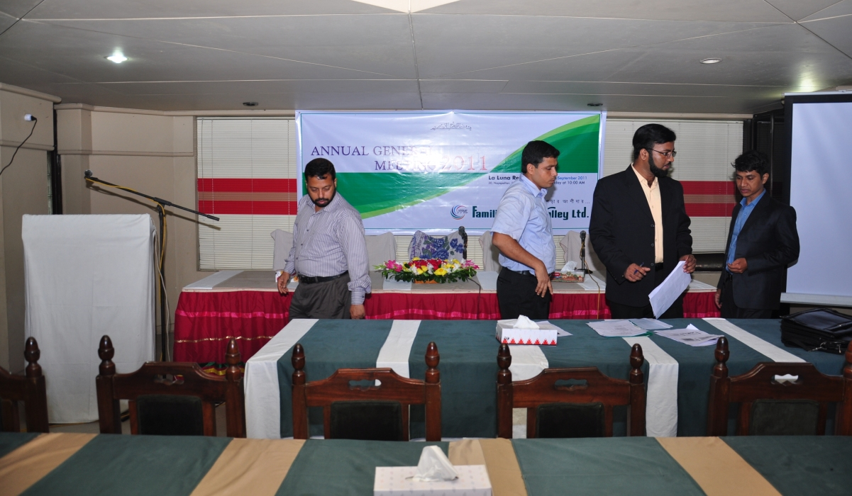 Preparation- 2nd AGM (Stage)