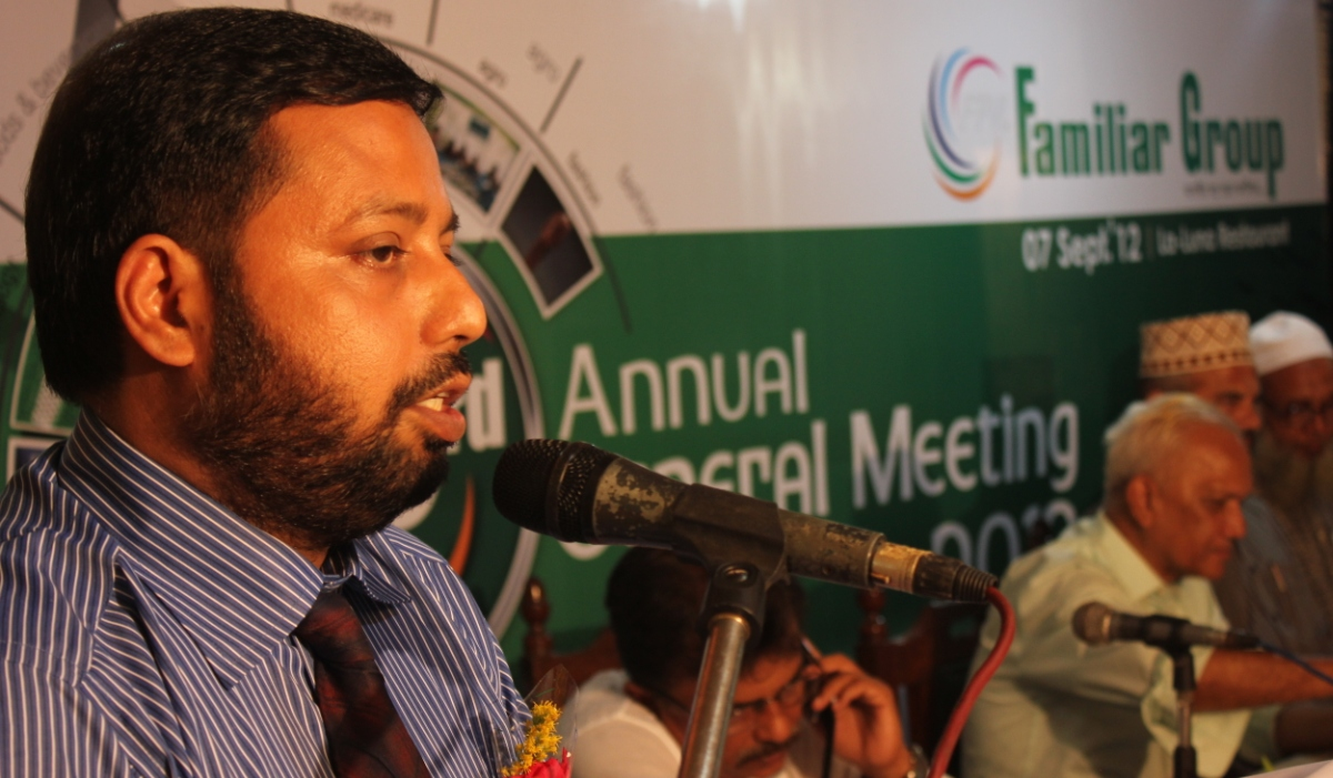 Chairman's Speech at 3rd AGM