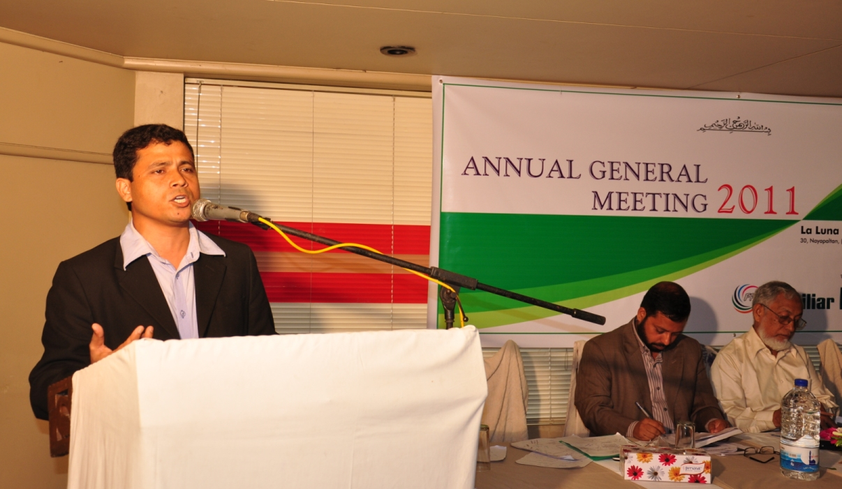 Executive Director's speech at 2nd AGM